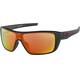 Oakley Straightback Sunglasses Matte Black/Prizm Ruby Polarized